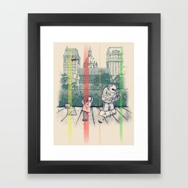 God Bless You, Kurt Vonnegut! Framed Art Print