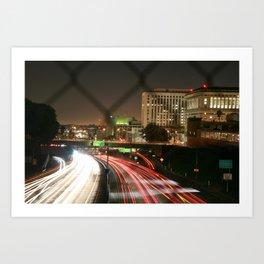 Visualize (LA) Art Print