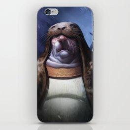Seal hunter iPhone Skin