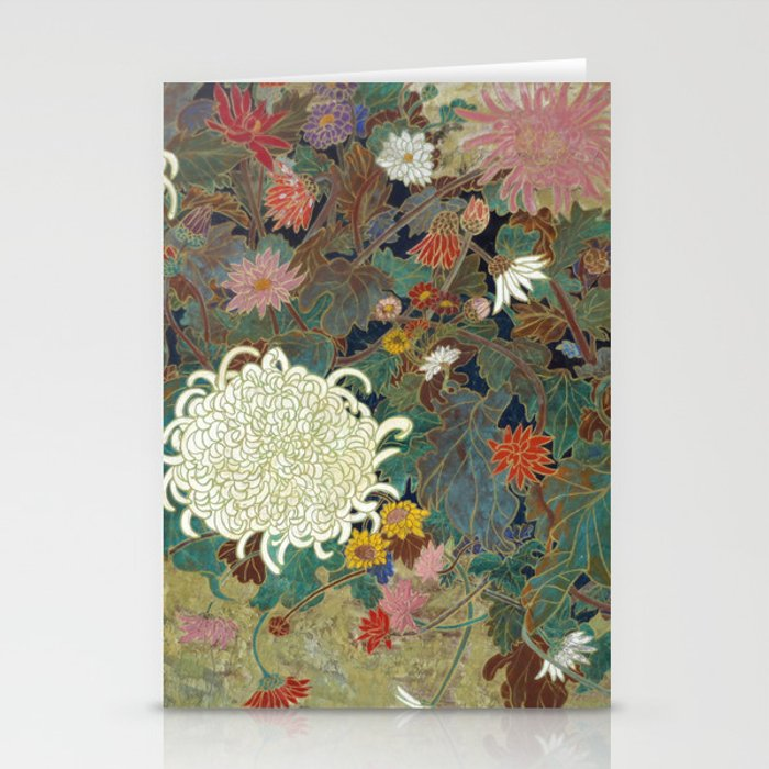 flower【Japanese painting】 Stationery Cards