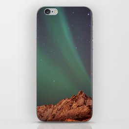 Mountains Landscape: Northern Lights - Aurora iPhone Skin