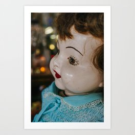 She is looking at you Art Print