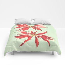 Joanne's Red Flowers Comforters