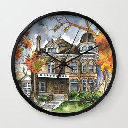 Victorian Autumn Wall Clock