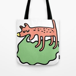 Vomiting dog Tote Bag