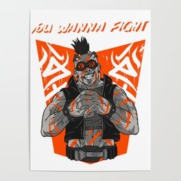 You Wanna Fight! Poster