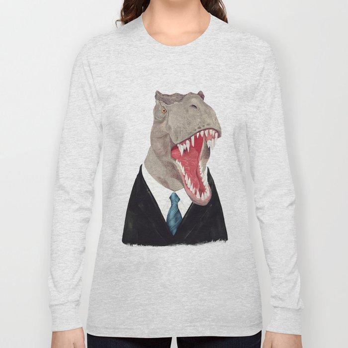 T. Rex - All Business Long Sleeve T-shirt