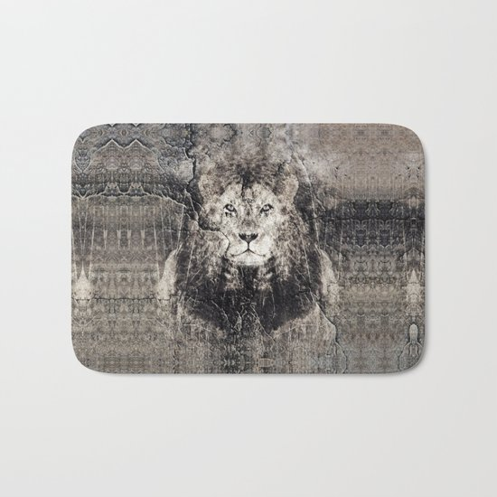 Lion Stone Bath Mat