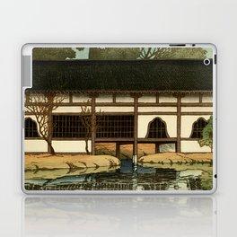 Ukiyo-e, Hasui Kawase, Part of the Byôdô-in Temple at Uji Laptop & iPad Skin