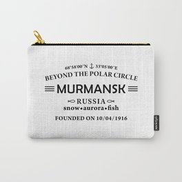 Murmansk Carry-All Pouch