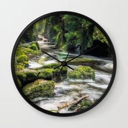 The Fairy Glen Wall Clock