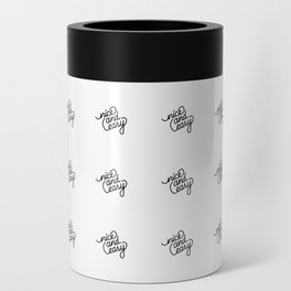 nice and easy   [pattern, black] Can Cooler