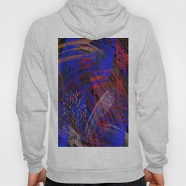 Abstract blue background Hoody