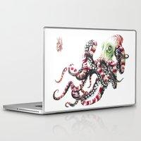 poop Laptop & iPad Skins featuring Poop pulpo by Javier Medellin Puyou aka Jilipollo