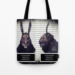 Evil Easter Bunny Rabbit Tote Bag