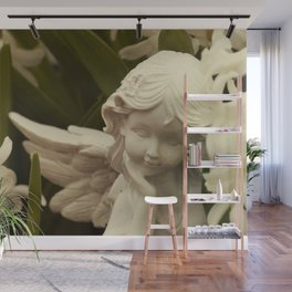 Angel and Hyacinth Wall Mural