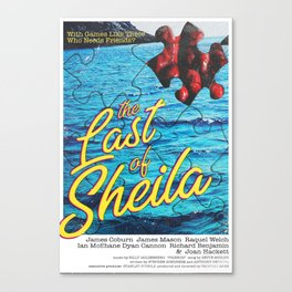The Last of Sheila Canvas Print