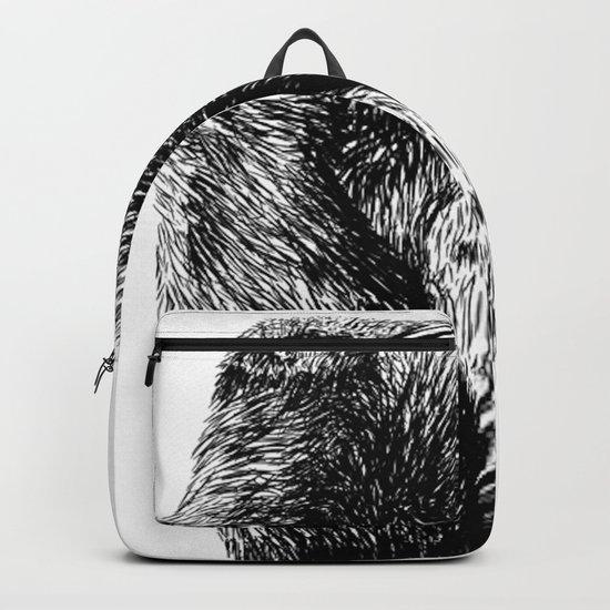 Penguin sketch Backpack