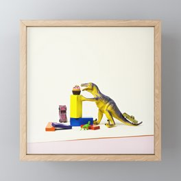I've come for your cupcakes Framed Mini Art Print