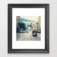 San Francisco Cable Car Framed Art Print