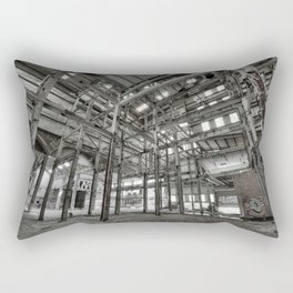 Metallic Structures Rectangular Pillow