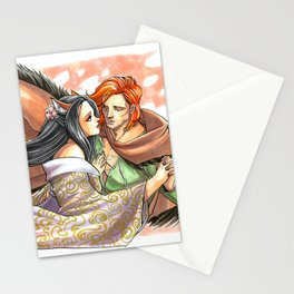 Charmed by the Ginger Stationery Cards