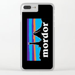 barad dur Clear iPhone Case