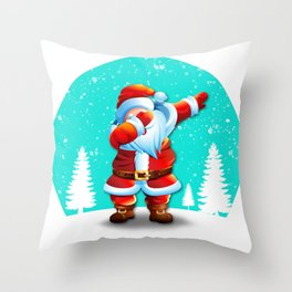 Dabbing Santa ! Christmas Special Throw Pillow