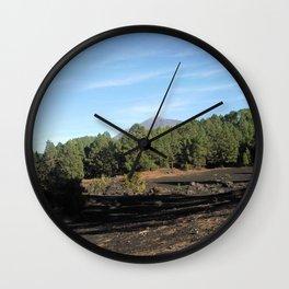 el Teide - Tenerifa Wall Clock