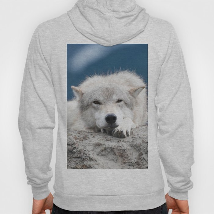 Sleepy Wolf Hoody
