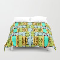 booty Duvet Covers featuring Booty by Patty Hogan