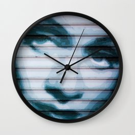 Dietrich on the Boulevard Wall Clock