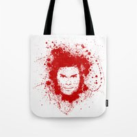 dexter Tote Bags featuring Dexter by David