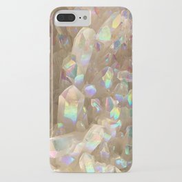 Unicorn Horn Aura Crystals iPhone Case