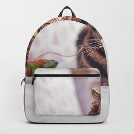 Cat by Juan Gomez Backpack
