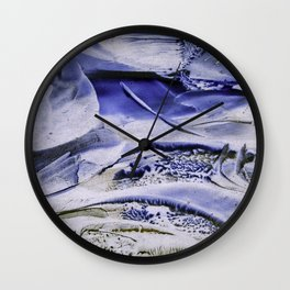 Melting Glacier Wall Clock