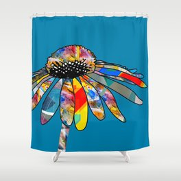 The unusually Conflower Shower Curtain