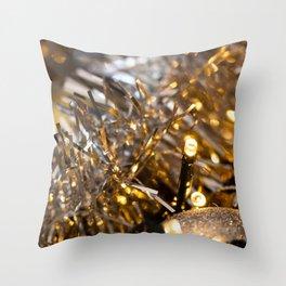 Golden Cheer IV Throw Pillow