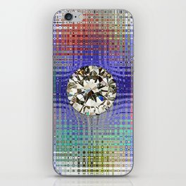 Diamond in Multi-Coulors iPhone Skin