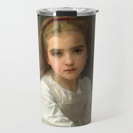 """William-Adolphe Bouguereau """"Girl with Pitcher"""" Travel Mug"""