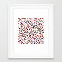 constellations Framed Art Prints featuring Constellations by Ninola