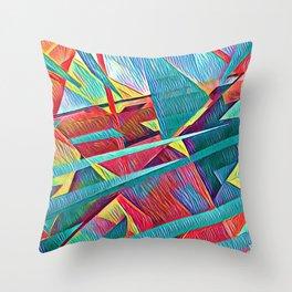 Continuum 2 Throw Pillow