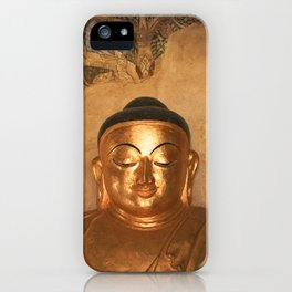 Gold Karma iPhone Case