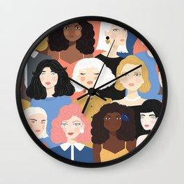Girls 01 Wall Clock