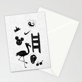 ☯  ~ • ✈ ♈ ☼ ♫ ☥ • ~  ☯ Stationery Cards