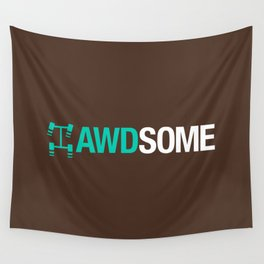 AWDSOME v3 HQvector Wall Tapestry