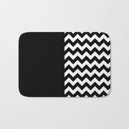 TIMELESS PATTERN (BLACK-WHITE) Bath Mat