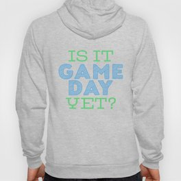 Is it Game Day Yet? - Blue/Mint Hoody