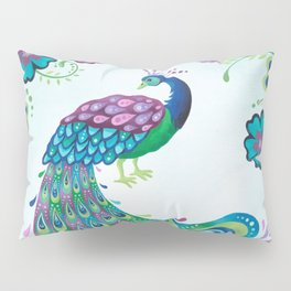 Flaunting It Peacock Pillow Sham
