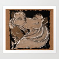 Tainted Love Art Print
